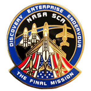Space Shuttle - The Final Mission Lapel Pin